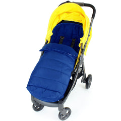 Deluxe Large Baby Footmuff Liner Fits Zeta Vooom - Navy - Baby Travel UK  - 3