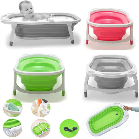 iSafe Flat Foldable New Born Baby Bath