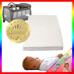 New Travel Cot Mattress Fit 93 X 66 Cm Graco Compact - Baby Travel UK  - 4