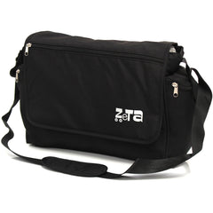 Baby Travel Zeta Changing Bag Plain BLACK Complete With Changing Matt - Baby Travel UK  - 2