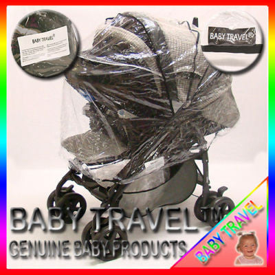 Rain Cover To Fit The Mamas And Papas Pliko Travel System - Baby Travel UK  - 1