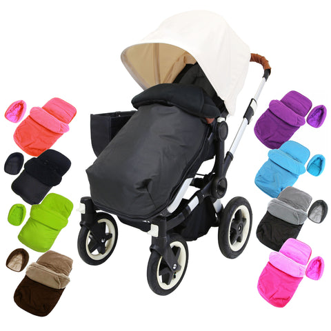 Padded Footmuff With Head Support Pouches For Bugaboo Bee