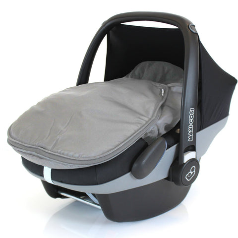 Carseat Footmuff For Maxi Cosi Cabrio Pebble Grey