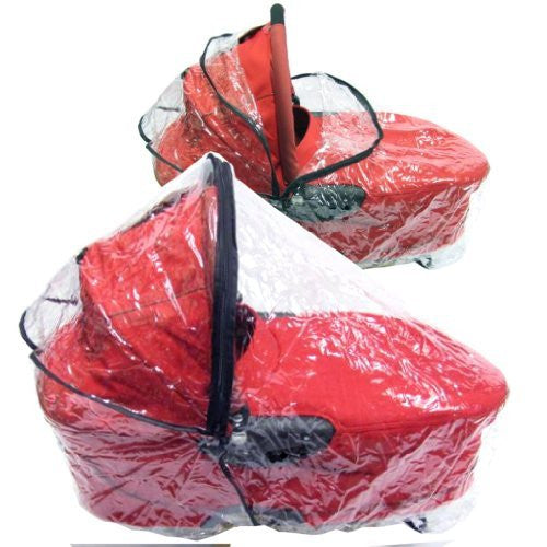 Raincover To Fit Loola Loola Up Streety Carrycot Rain Cover Pram - Baby Travel UK  - 1