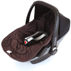 New Carseat Footmuff Hot Chocolate Brown Fits Graco Symbio Mosaic Mirage Quattro - Baby Travel UK  - 4