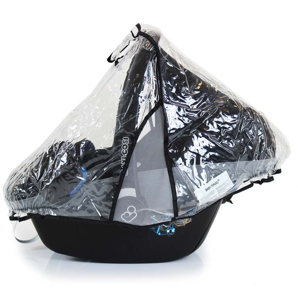 Raincover For Stokke Izi Go Car Seat Ventilated Rain Cover - Baby Travel UK  - 1