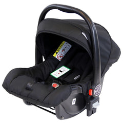 Marvel 3in1 Pram - Black Pearl Pram Travel System (+ Luxury Carrycot + Car Seat) - Baby Travel UK  - 8