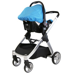 iSafe Marvel 2in1 Pram - Travel System (With Car Seat) - Baby Travel UK  - 22