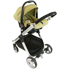 iSafe Marvel 2in1 Pram - Travel System (With Car Seat) - Baby Travel UK  - 19