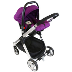 iSafe Marvel 2in1 Pram - Travel System (With Car Seat) - Baby Travel UK  - 18