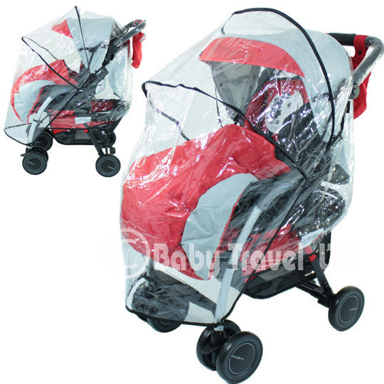 Rain Cover For Chicco Ponee Stroller Raincover - Baby Travel UK  - 1