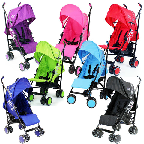 Zeta CiTi Stroller - From Birth (Multiple Colors Available) With Free Rain Cover