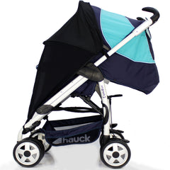Sunny Sail Universal Quinny Zapp Buggy Pram Stroller Shade Parasol Substitute - Baby Travel UK  - 6