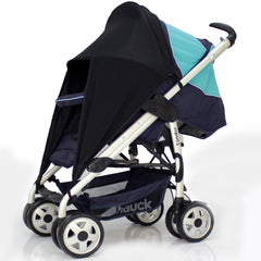 Sunny Sail Universal Quinny Zapp Buggy Pram Stroller Shade Parasol Substitute - Baby Travel UK  - 5