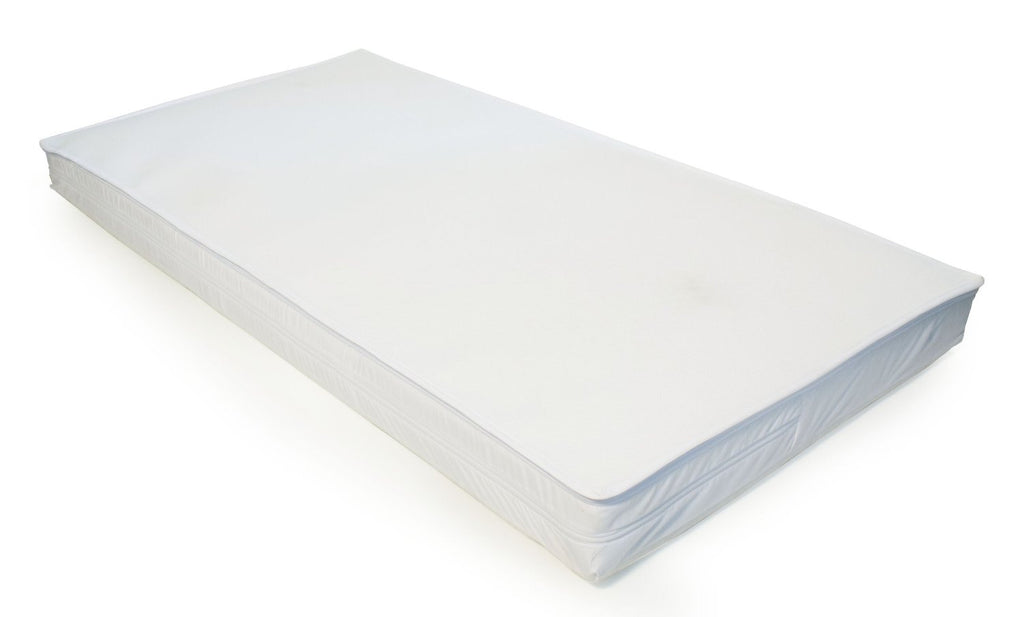 New Cot Bed 140 X 70 Allergenic Foam Mattress Cotbed - Baby Travel UK  - 1