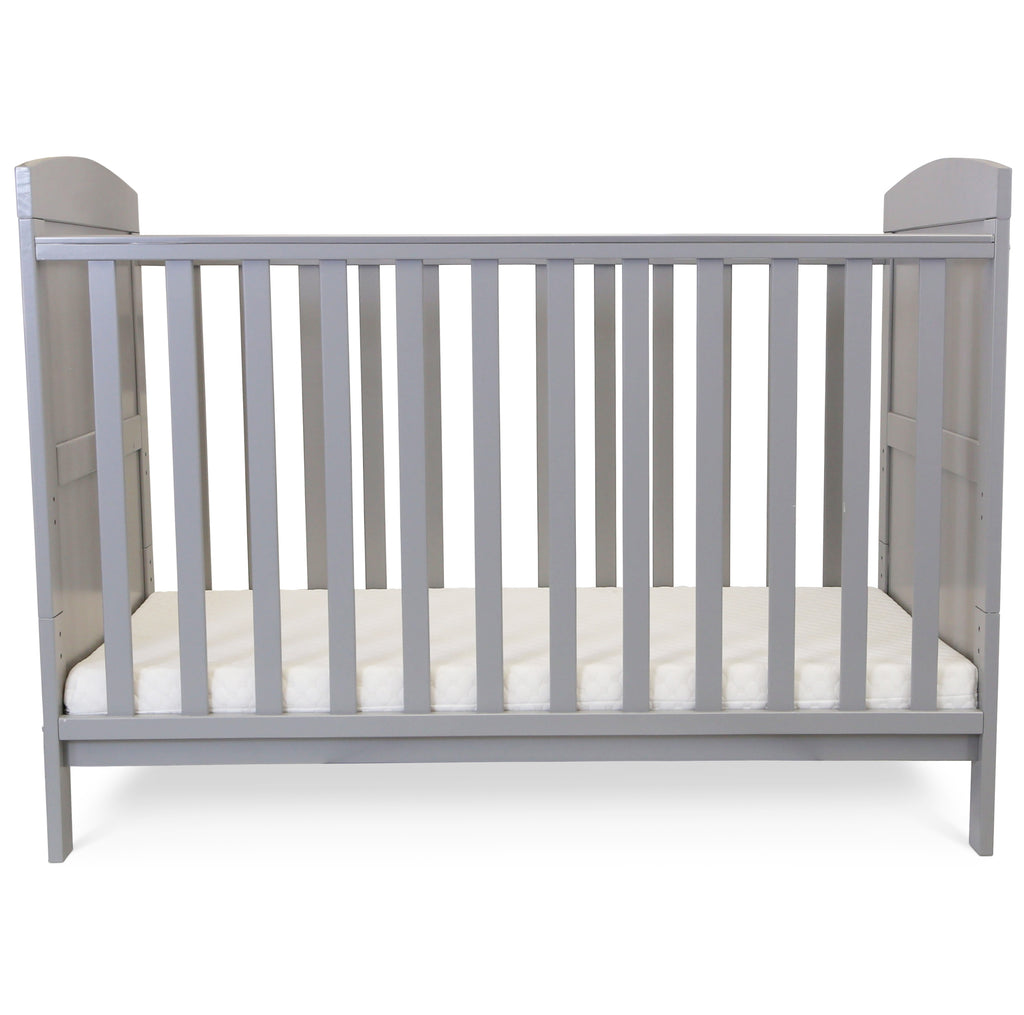 Grey Baby Cot Bed Junior