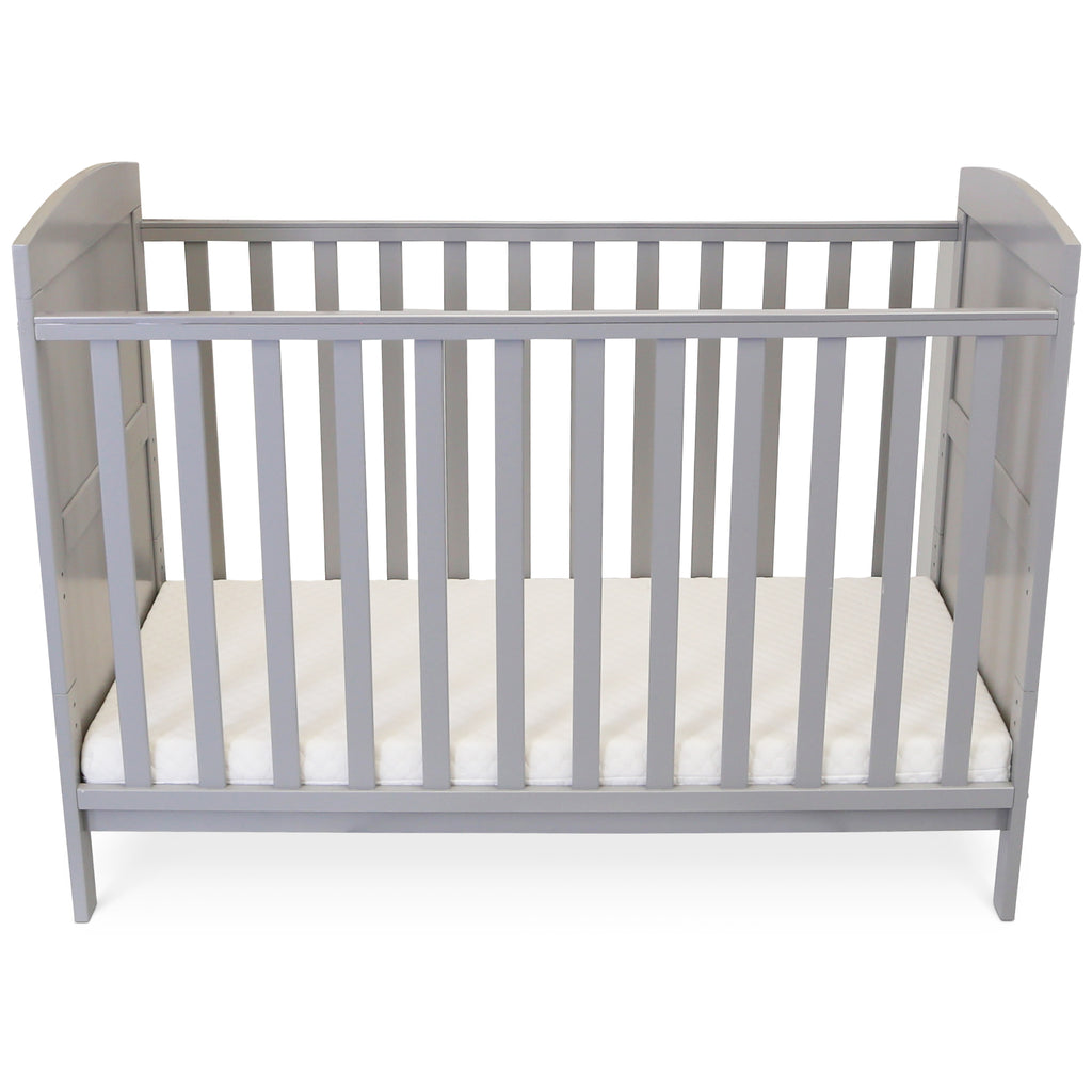 Silver Cross Cot Bed Grey Mattress