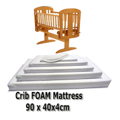 Baby Travel Mattress Spring Foam for Cot CotBed Swinging Crib Moses Basket - Baby Travel UK  - 5