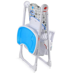iSafe MAMA Highchair - Blue Circles - Baby Travel UK  - 6