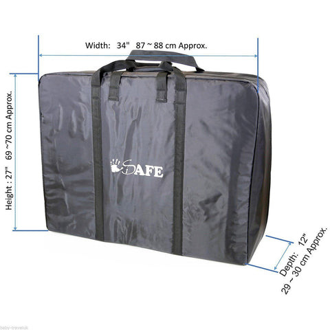 iSafe Large Holiday TWIN / INLINE / DOUBLE Travel Bag Luggage Heavy Duty Design