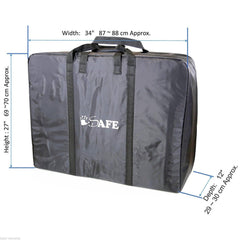 TWIN / INLINE / DOUBLE Travel Bag Luggage Heavy Duty Design For Inline Tandem Travel Tote - Baby Travel UK  - 2