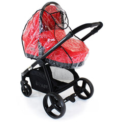 Rain Cover For Graco Evo Carrycot & Stroller All In 1  Wind Rain Coverall - Baby Travel UK  - 3