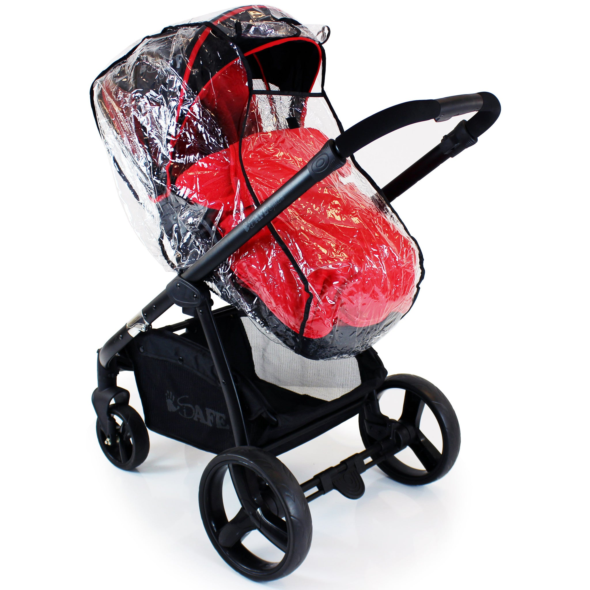 Rain Cover For Graco Evo Carrycot & Stroller All In 1 Wind Rain Coverall Baby