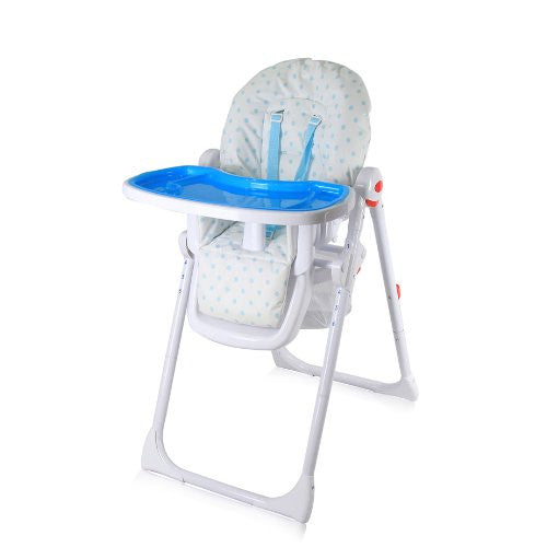 iSafe MAMA Highchair - Blue Dots - Baby Travel UK  - 1
