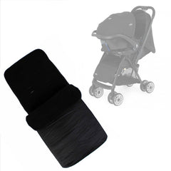 Buddy Jet Foot Muff Black Suitable For Joie Mirus Travel System (Black Ink) - Baby Travel UK  - 1