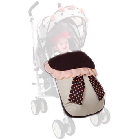 iSafe Full Of Flowers Stroller Snuggle Footmuff