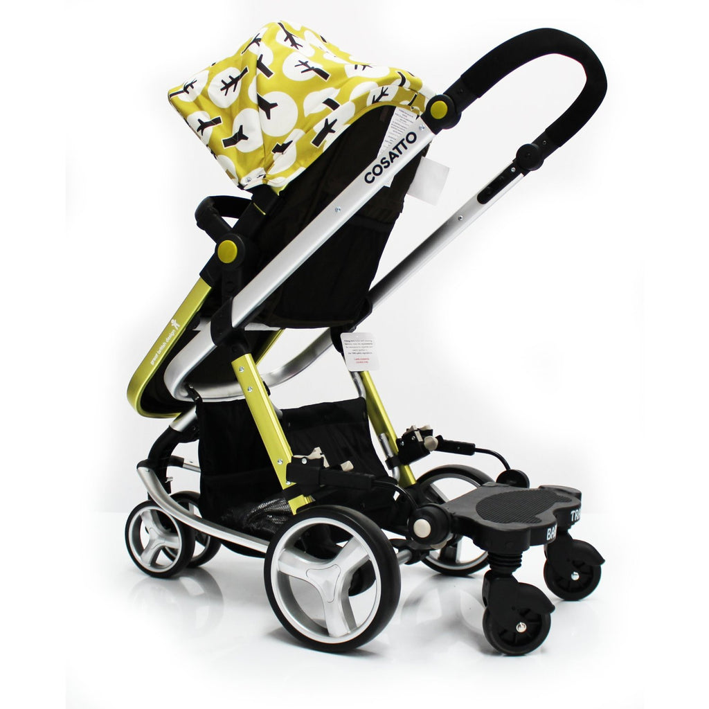 Baby Travel Board Stroller Black Ride On Buggy For Mamas & Papas Solo - Baby Travel UK  - 1