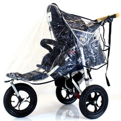 Stroller Raincover 3 Wheeler For Cosatto Venture Stroller - Baby Travel UK  - 5