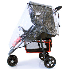 Stroller Raincover 3 Wheeler For Cosatto Venture Stroller - Baby Travel UK  - 2