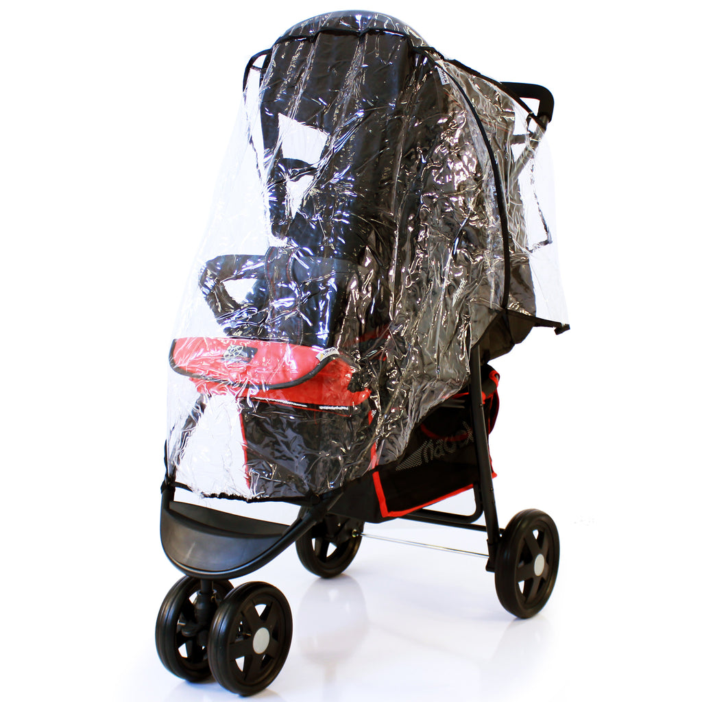 Stroller Raincover 3 Wheeler For Cosatto Venture Stroller - Baby Travel UK  - 1