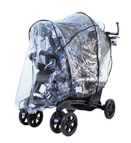 New Design Raincover For Graco Quattro Tour Duo Tandem Double - Baby Travel UK  - 1