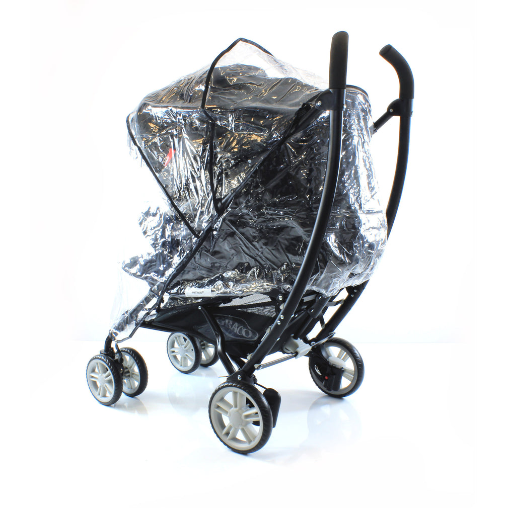 Raincover I'candy Stawberry Pushchair Ventilated Rain Cover - Baby Travel UK  - 1