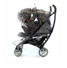 Universal Raincover To Fit Graco Mirage Classic & Graco Mosaic Travel System - Baby Travel UK  - 4