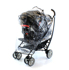 Raincover For Baby Jogger Versa Gt Select Pushchair Ventilated Rain Cover - Baby Travel UK  - 5