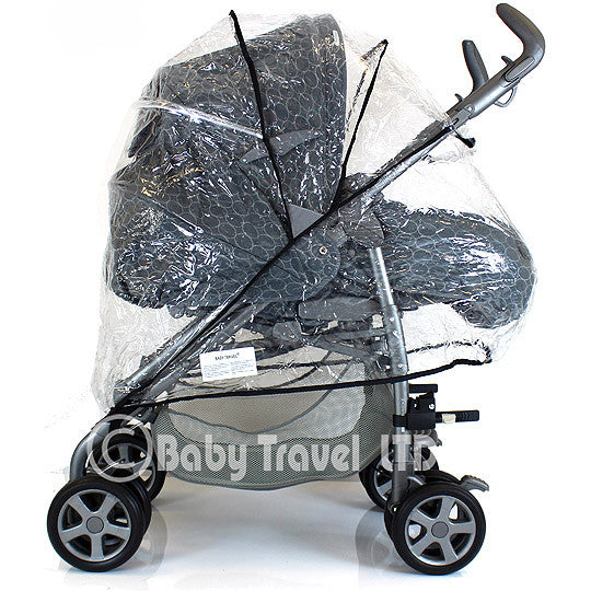 New Parm Pramette Raincover Fits Red Kite Pushchair Uno - Baby Travel UK  - 1