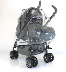 Inglesina Zippy Stroller & Pram Raincover - Baby Travel UK  - 2