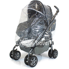 New Parm Pramette Raincover Fits Red Kite Pushchair Uno - Baby Travel UK  - 3