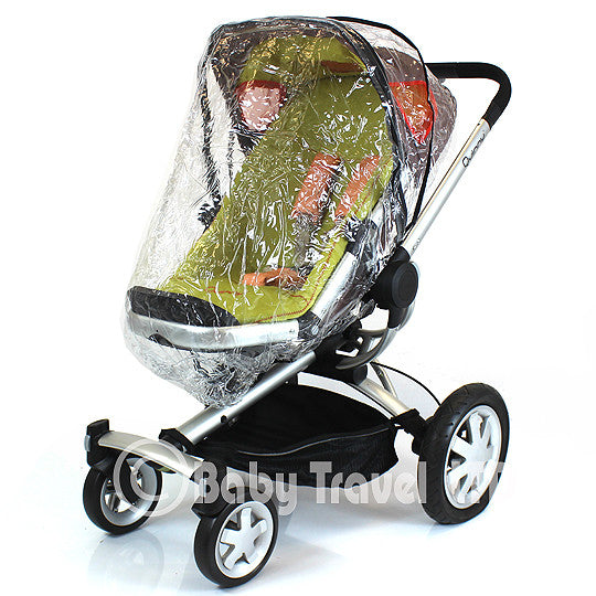 Rain Cover Fit Quinny Buzz Pram Pushchair Stroller - Baby Travel UK  - 1