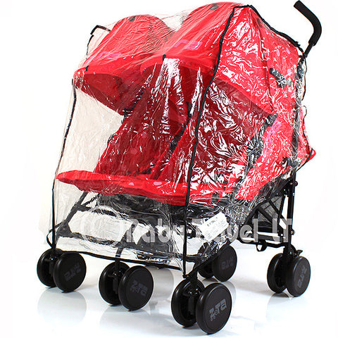 Rain Cover Tofit Mothercare Duo Lite Twin Pushchair