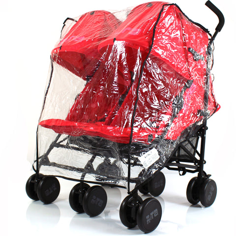 Heavy Duty Quality Twin Stroller Raincover