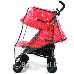 Rain Cover Tofit Combi We 2 Kool Grey Twin Stroller - Baby Travel UK  - 2