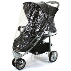 Rain Cover To Fit Petite Star Zia Pushchair Raincover - Baby Travel UK  - 3