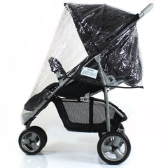 Rain Cover To Fit Petite Star Zia Pushchair Raincover - Baby Travel UK  - 1
