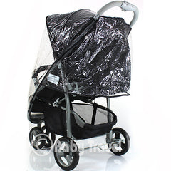New Rain Cover For Capri Hauck Pushchair Raincover Stroller (Bt Zeta Lite) - Baby Travel UK  - 2