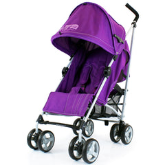 ZeTA Vooom Stroller - Plum Luxury Baby Pushchair - Baby Travel UK  - 1
