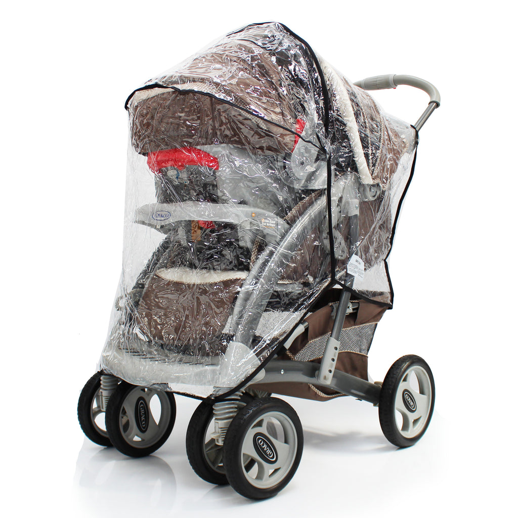 Raincover Zipped For Graco Quattro Tour Sport Travel System - Baby Travel UK  - 1